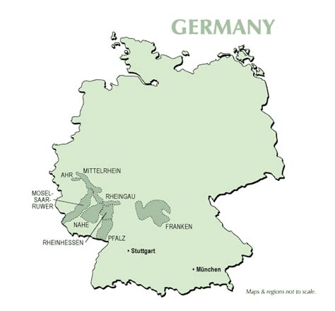 map germany regions germany s wine regions supplewine