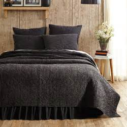 cheyenne black denim  vhc brands quilts beddingsuperstorecom