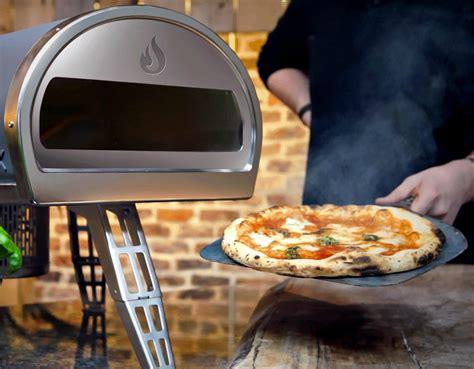 roccbox portable oven cooks a pizza in 90 seconds roccbox pizza oven average joes