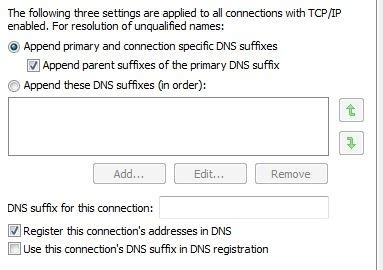 set disable dns suffix  gpo  post  dns