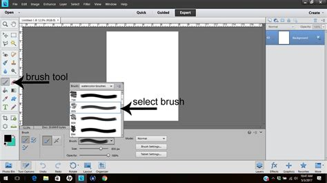 reset a tool in photoshop how to use the brush tool in photoshop elements here