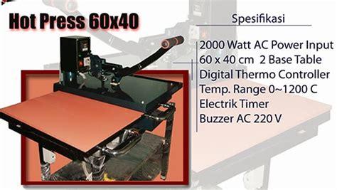 Mesin Sablon Kaos Digital 40x60 alat sablon peralatan sablon jual alat sablon