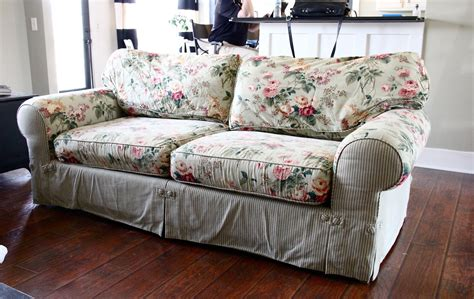what to do with old sofa the yellow cape cod ten year old sofa makeover
