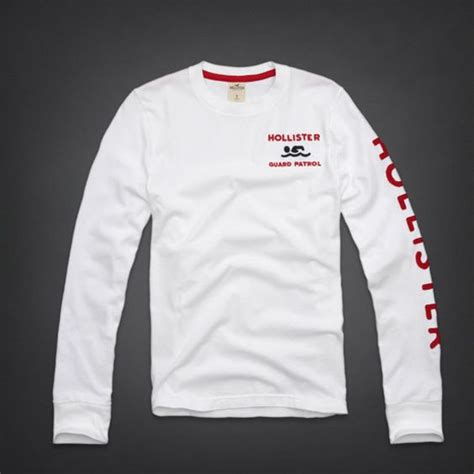 Shirt Hollister White details about bnwt hollister mens sleeve t shirt