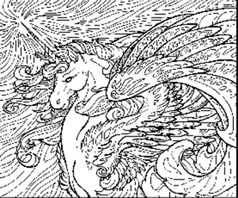 hard coloring pages unicorn coloring page coloring home