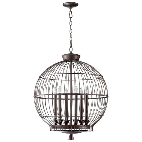Cyan Design 04754 Bird Cages Hendricks Transitional Foyer Birdcage Ceiling Light