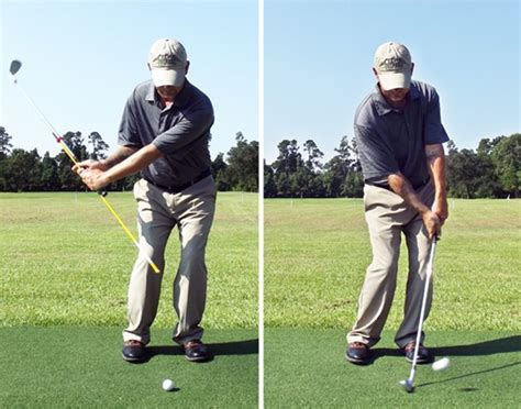 how to get lag in your golf swing whats the best way to get your hands ahead of the ball at
