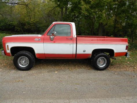 Gmc Truck Bed For Sale by 1977 Gmc Classic 15 4x4 Bed For Sale Gmc