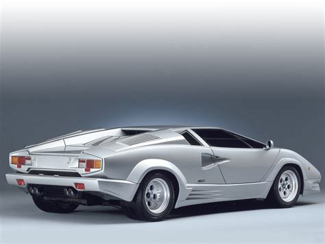 lamborghini countach 1989 lamborghini countach 25th anniversary pictures