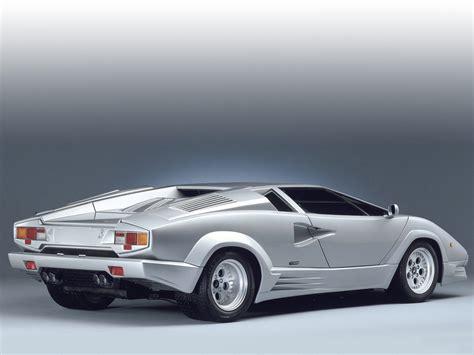 Lamborghini Countach Pictures 1989 lamborghini countach 25th anniversary pictures