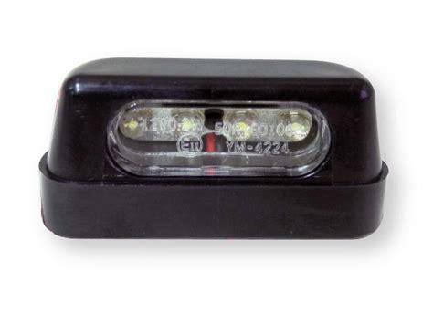 eclairage de plaque led moto eclairage plaque immatriculation moto leds 322046