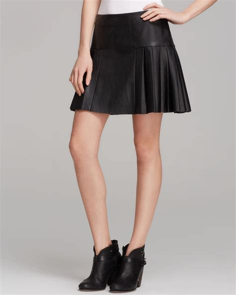 twelfth cynthia vincent mini skirt faux leather