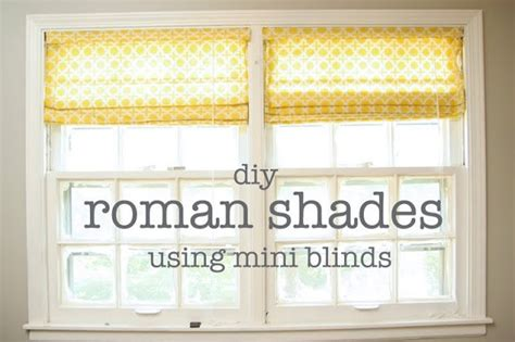 shades out of mini blinds diy shades using mini blinds