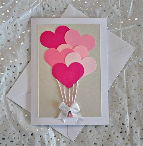 Handmade Cards For Valentines Day - best 25 handmade valentines cards ideas on
