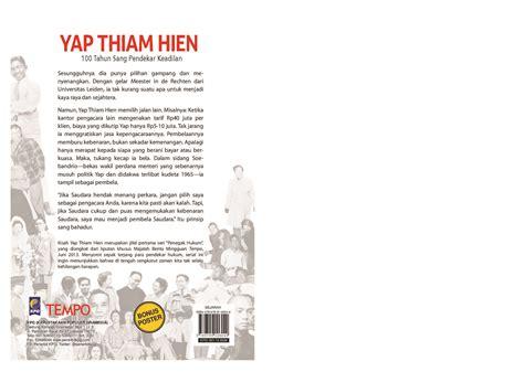 Buku Saku Tempo Yap Thiam Hien By Tempo seri penegak hukum yap thiam hien book by tim buku tempo gramedia digital