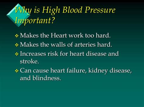 Can Stroke Cause Blindness ppt diet and hypertension powerpoint presentation id 1266349