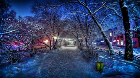 colorful winter wallpaper colorful winter night photography abstract background