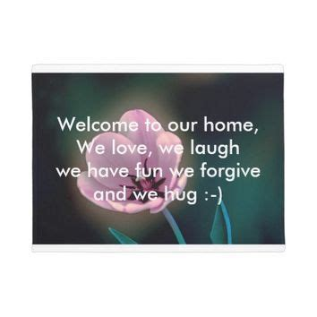 Welcome To Our Home Doormat - best welcome door mats products on wanelo