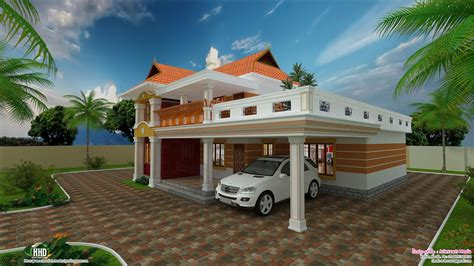 kerala home design january 2013 2700 sq feet beautiful villa design kerala home