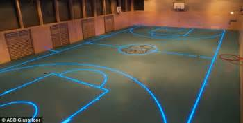 basketball interactive the amazing interactive that can change its floor for