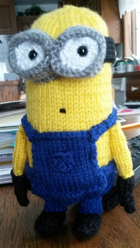 minion knitting pattern minions and despicable me knitting patterns in the loop