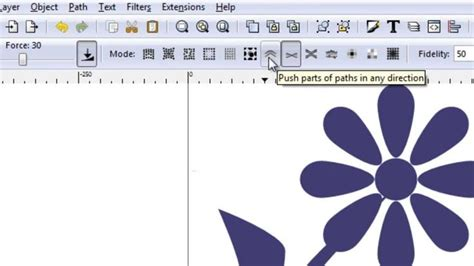 vector graphics tutorial inkscape inkscape how to draw a vector daisy in inkscape hd