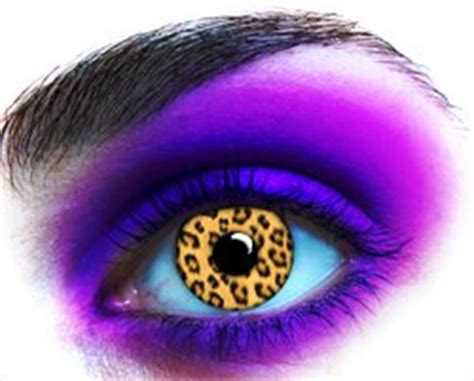 leopard contact lenses
