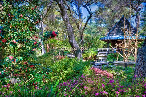 La Canada Botanical Gardens Descanso Gardens La Canada Flintridge Ca Japanese Tea House Bridge David Zanzinger Los