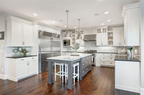 kitchen island on legs interior design the nantucket show home traditional kitchen