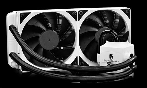 Deepcool Captain 240 Ex Rgb captain 240 ex white rgb gamer cpu liquid cooler