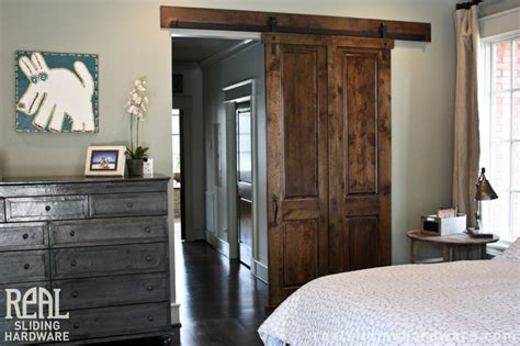 Barn Door Bedroom Custom Bedroom Barn Doors Traditional Bedroom Birmingham By Real Sliding Hardware