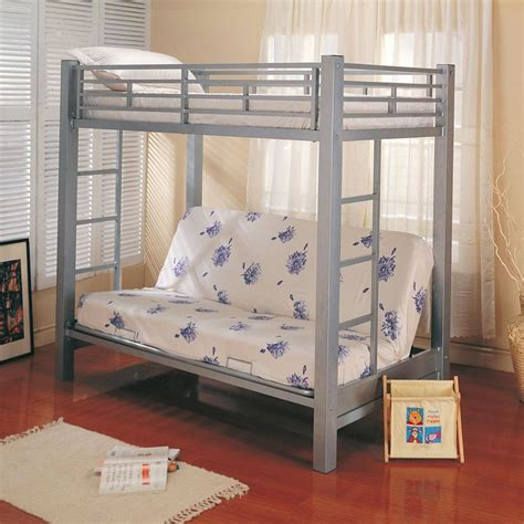 twin over double bunk bed twin bunk bed over futon sofa simple loft bed with futon