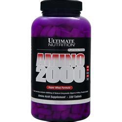 Sale Utimate Nutrition Amino 2002 330 Tabs Pembentukan Massa Otot ultimate nutrition amino 2000 whey formula on sale