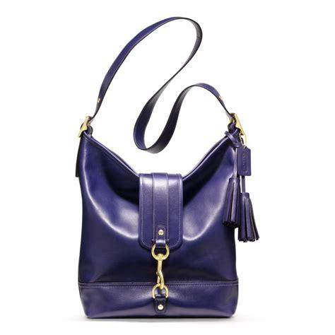 Coach Mini Duffle Purple coach legacy leather large dogleash duffle in purple