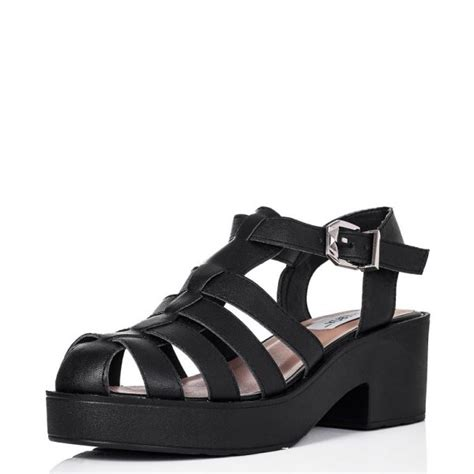 black sandal black sandals chunky black sandals