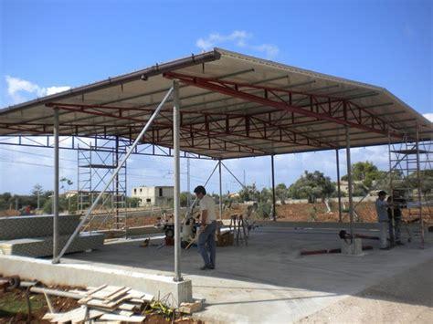 capannone usato in ferro miniescavatore capannoni in ferro in vendita