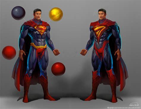 Superman Original Superman 5 injustice gods among us concept