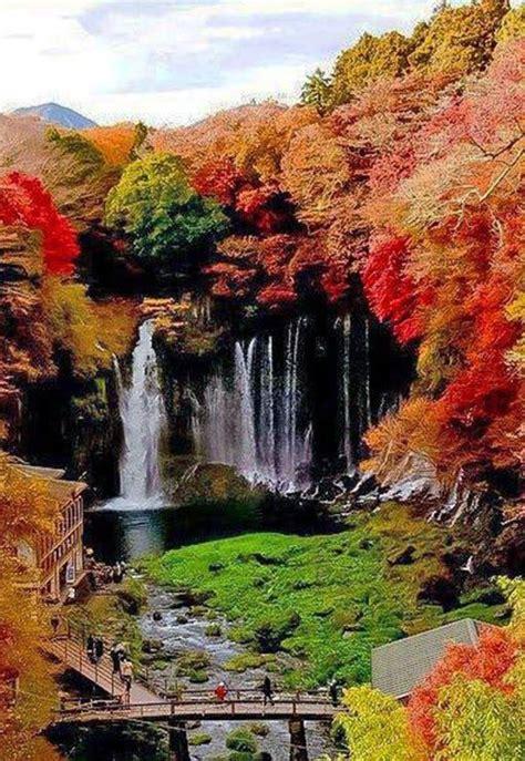 fukuroda fallsjapan water falls waterfall beautiful beautiful places