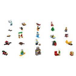 Calendrier De L Avent Lego Calendrier De L Avent Jouet Lego City