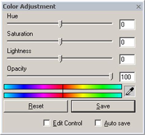 color adjustment documentary color adjustment