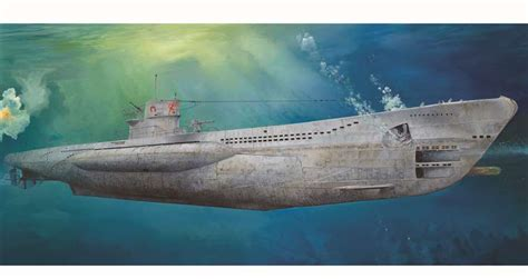 u boat viic trumpeter 1 48 dkm u boat type viic u 552 tr06801