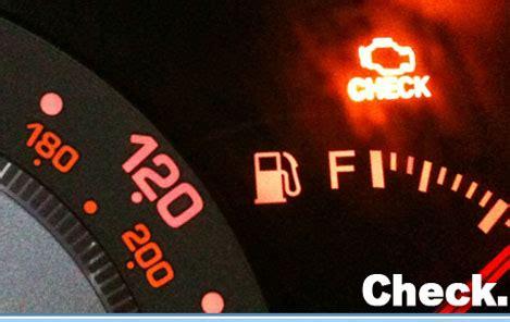 causas por las que la check engine light se enciende