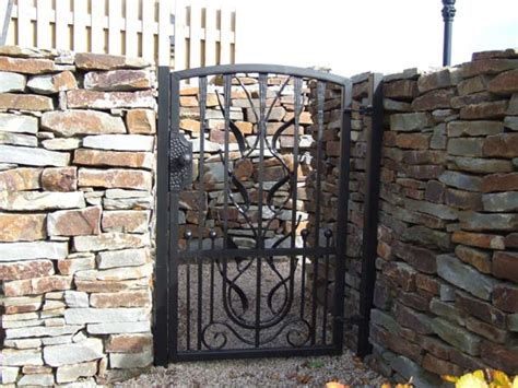 side gates for houses wrought iron gates images