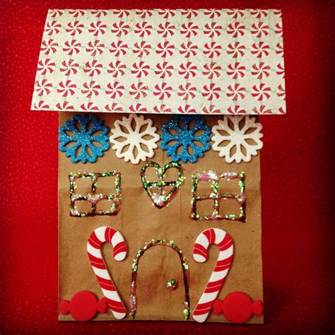 Paper Bag Gingerbread House Craft - 17 best ideas about gingerbread crafts on