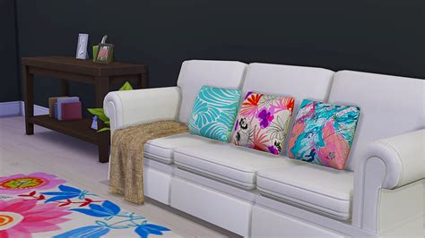 cc couch my sims 4 blog kate spade pillows by fairycirclesims