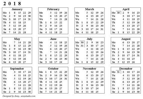 Weekly Calendar 2018   printable 2017 calendars
