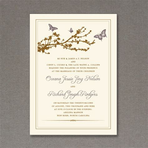free customizable invitation templates 5 beautiful free wedding invitations fab n free