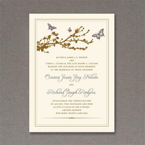 5 beautiful elegant free wedding invitations fab n free