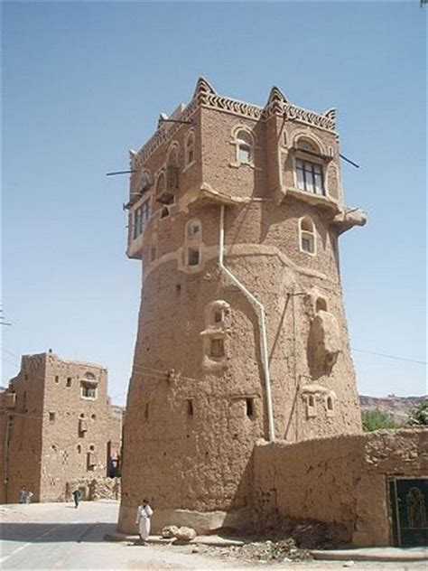 tower house old walled city of shibam
