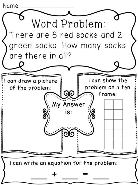 printable word problem math games addition word problems hands on activity worksheets word